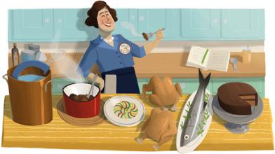 Julia Child's 100th birthday