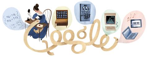 Google Doodle celebrates Ada Lovelace