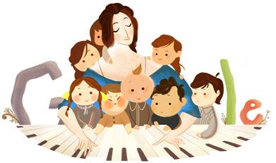 Clara Schumann's 193rd Birthday