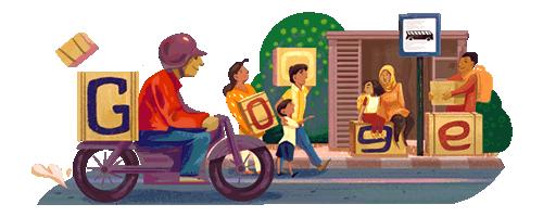 Musim Mudik 2016 Jadi Google Doodle