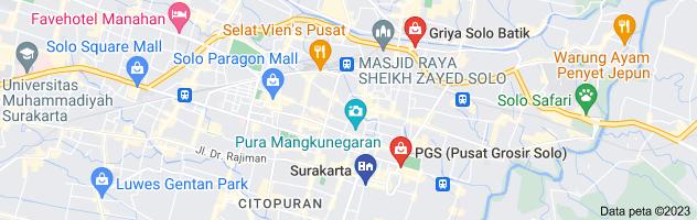 Peta batik solo murah berkualitas