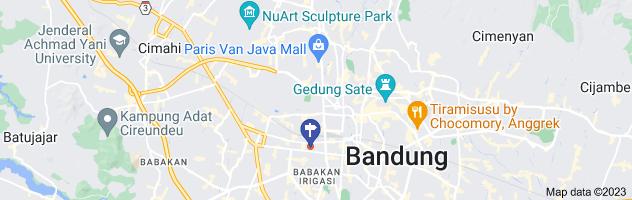 Map of chinatown bandung jl kelenteng