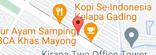 Map of EATBOSS KELAPA GADING