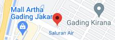 Map of Anak Elang Harley-Davidson Of Jakarta