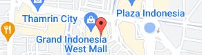 Map of GREYHOUND CAFE JAKARTA