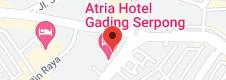 Peta Atria Hotel Gading Serpong
