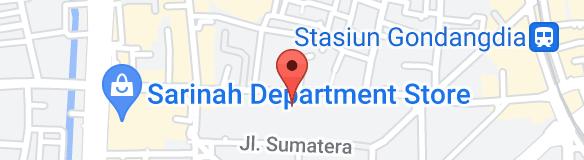Map of Sushi Matsu