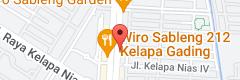 Map of Warunk Upnormal Kelapa Gading
