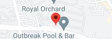 Map of O! Fish Kelapa Gading